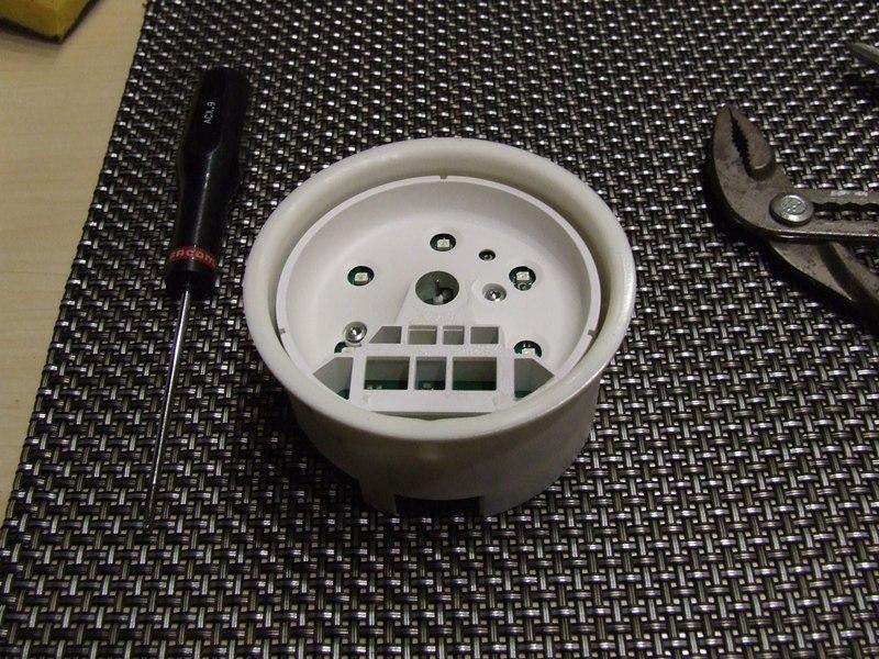 Remplacer l'éclairage des compteurs. DSCF2526
